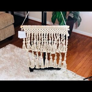 Bella Luxx Other - Boho Romantic Macrame Wall Hanging